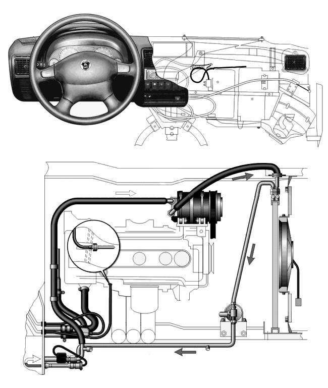 система отопление газ 3110